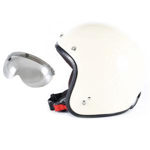 72JAM 女性用 ジェットヘルメット&シールドセット JP MONO HELMET - オフアイボ...