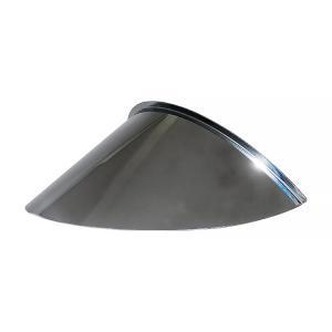 ピヨピヨバイザー (ひさし長9cm) 中型車用(180φ相当ヘッドライト用)  ピヨピヨヘッドライトバイザー ステンレス製|alleguretto88jp