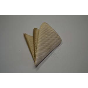 無地(縦ライン)/ベージュのソリッド(無地)ポケットチーフ(チーフ23cm) / PC-SO004|allety-y