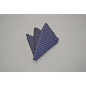 無地(縦ライン)/紫のソリッド(無地)ポケットチーフ(チーフ30cm) / PC-SO007|allety-y