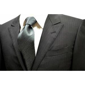 モスグリーン(濃いグリーンのミックスの糸)ネクタイ / MUT-007|allety-y