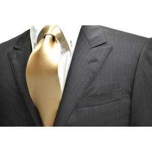 無地(シルクサテン)/シャンパンゴールドのネクタイ / 結婚式・披露宴・フォーマル・礼装/AP-004|allety