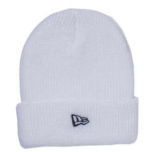 ニューエラ NEWERA/SOFT CUFF KNIT ( WHITE/BLACK ) ビーニー|alleyoop