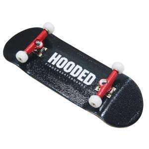 フーデッド/HOODED 33mm StartUp! フィンガースケートボード 【指スケ】 BLACK フィンガーボード(指スケ)