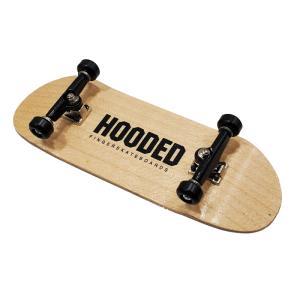 フーデッド/HOODED 33mm StartUp! フィンガースケートボード 【指スケ】 ナチュラル フィンガーボード(指スケ)