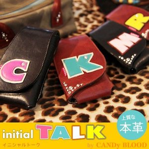 iPhone5s ケース カバー レザーケース イニシャルトーク|allfie