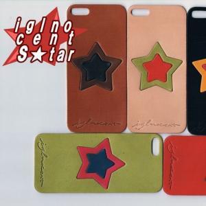 iPhone5s ケース カバー レザーシート ハンドメイド ブランド 正規品 本革 iglnocent イノセント 背面カバー スマホ裸族の方も|allfie|02