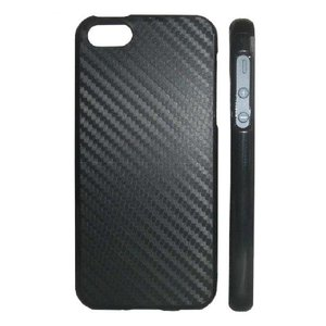 iPhone5カバー カーボン Blackケース/Black carbon|allfolia