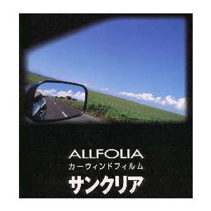 夏の太陽を遮断・透明断熱フィルム サイズ1070mm×4m 営業日14時までのご注文は当日出荷! allfolia