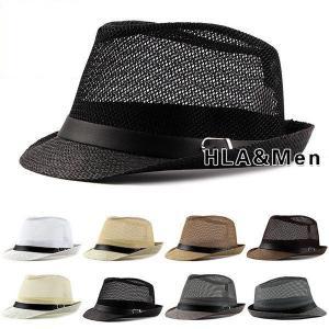 麦わら帽子 メンズ メッシュ ハット 風通し UVカット 紫外線対策 夏用帽子 アウトドア おしゃれ 夏 サマー 送料無料 セール|allforever