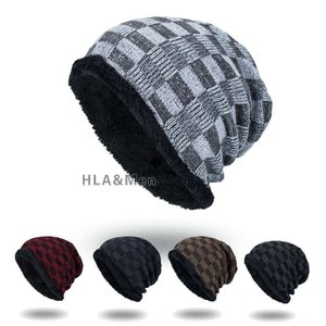帽子 メンズ おしゃれ ニットキャップ 裏起毛 防寒 ニット帽 チェック柄 メンズ帽子 秋冬 敬老の日|allforever