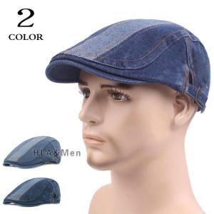 ハンチング帽 メンズ レディース キャップ ハット ハンチング デニム 帽子 ぼうし お出かけ 日よけ 敬老の日|allforever