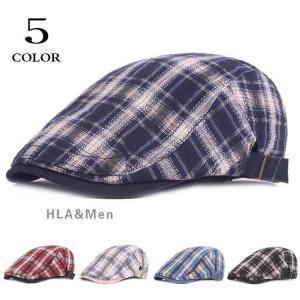 メンズキャップ ハンチング メンズ 帽子 ハット チェック柄 ハンチング帽 日よけ アウトドア おしゃれ 敬老の日|allforever