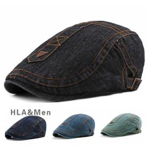 帽子 キャップ メンズ レディース ハンチング帽子 UVカット ハンチング デニム サイズ調整可 敬老の日|allforever
