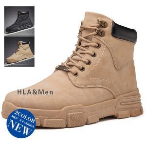 ミリタリーブーツ メンズ 革靴 ショートブーツ ブーツ ワークブーツ 撥水 防滑 アウトドア|allforever