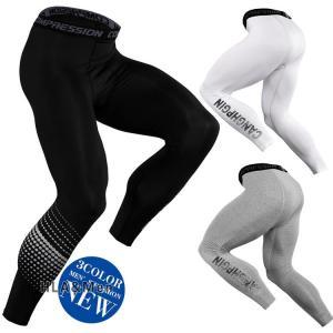 コンプレッションウェア タイツ メンズ 加圧パンツ 吸汗 速乾 アンダーウエア トレーニングウエア スポーツ|allforever