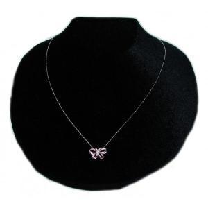 ペンダント ネックレス 18金 ホワイト ゴールド K18 WG ダイヤモンド ダイヤ バタフライ 蝶 butterfly レディース 送料無料 新品 NC12600|alliegold|04