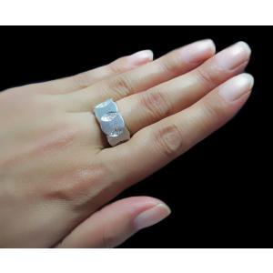 リング 指輪 18金 ホワイト ゴールド K18 WG 上質天然 ダイヤモンド ダイヤ 1カラット 1.0ct マット 艶消し 地金 ミラー 鏡面 ツートン メンズ レディース alliegold 05