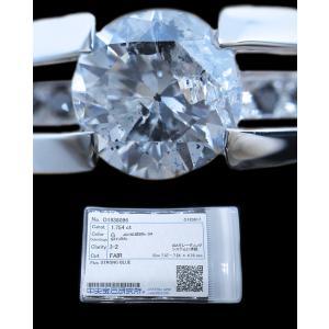 リング 指輪 中石 一粒 ダイヤモンド 1カラット 1.754ct 両腕 ブラック ダイヤ ライン 立体的 幅広 ワイド リング プラチナ Pt900 alliegold 07