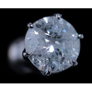 ピアス pierced シングル 片 耳 方 プラチナ Pt900 一粒 ダイヤモンド ダイヤ dia 1 カラット 1.0 ct ソーティング 鑑定 手作り 6 本 点 爪 レディース メンズ|alliegold|02