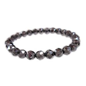 ブレスレット bracelet 純正 テラヘルツ 鉱石 terahertz 日本製 100面 カット 高純度 99.999 % %  アクセサリー レディース メンズ 誕生日記念 新品 送料無料|alliegold
