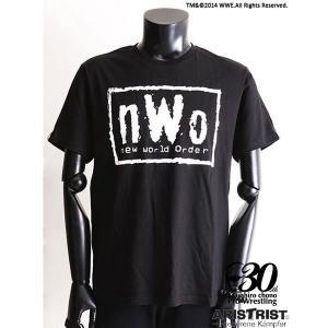 nWo Tシャツ ブラック (ARISTRIST×WWE) alljapan