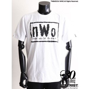 nWo Tシャツ ホワイト (ARISTRIST×WWE) alljapan