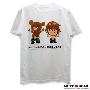 【生産・販売終了】T.M.Revolution × 武藤ベアー コラボTシャツ ホワイト|alljapan