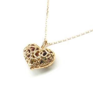 7色の宝石入りハート型アミュレット|alljewelry
