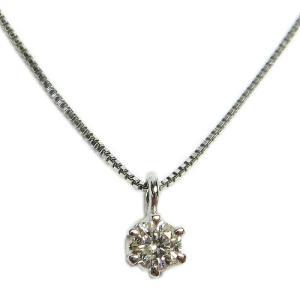 天然ダイヤモンド一粒ネックレス【彼女や奥様へ】【クリスマスプレゼントに】|alljewelry