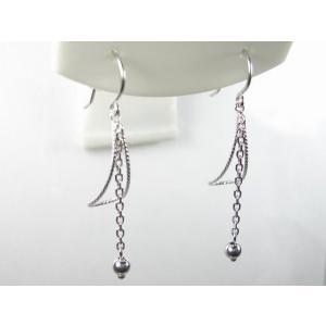 K18WG地金フック ピアス alljewelry 03