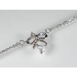 K10WGアクアマリン/ダイヤブレスレット|alljewelry