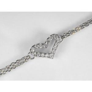 プラチナダイヤブレスレット|alljewelry