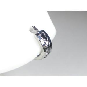 K14WGブラックダイヤメンズ ピアス|alljewelry|03