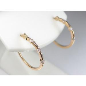 K18PGダイヤ ピアス|alljewelry|05