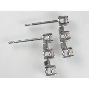 K18WGダイヤ ピアス|alljewelry|03