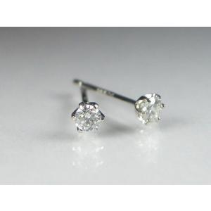 PTダイヤスタッド ピアス 0.1CT|alljewelry