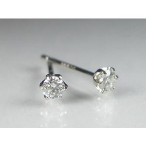 PTダイヤスタッド ピアス 0.3CT|alljewelry