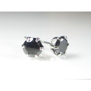 PTブラックダイヤ ピアス|alljewelry