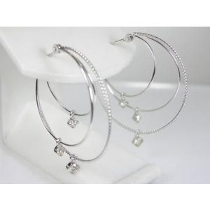 K10WG ホワイトゴールド ダイヤモンド ピアス|alljewelry|03