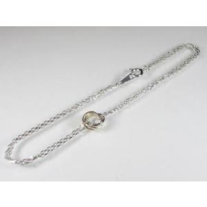 K10WG ホワイトゴールド/PG ピンクゴールド/YG イエローゴールド ダイヤモンド ブレスレット alljewelry