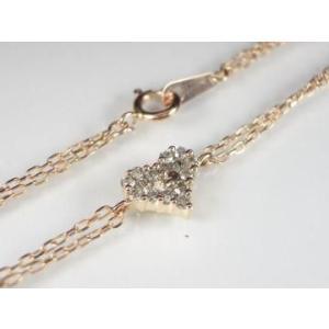 K10PG ピンクゴールド ダイヤモンド ブレスレット|alljewelry|03