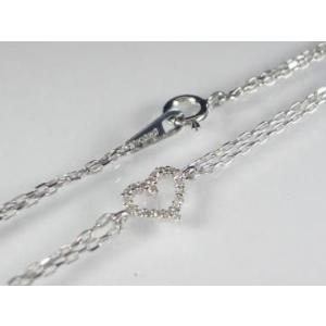 K10WG ホワイトゴールド ダイヤモンド ブレスレット|alljewelry|03
