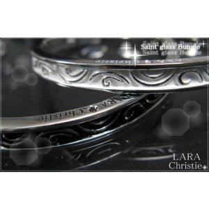 ララクリスティー LARA Christie セイントグラス ペアバングル 【送料無料】【即納】【ペアジュエリー】【ペアアクセサリー】【プレゼントに|alljewelry
