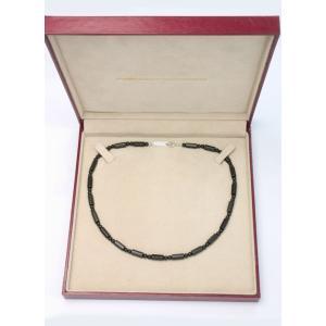 ブラックシリカ ネックレス ブリリアンSV [45cm] 厚生労働省認可医療機器ジュエリー (認証番号:223AKBZX00189000) alljewelry 04