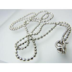 イタリアンボールチェーンダイヤモンドカット【即納】|alljewelry