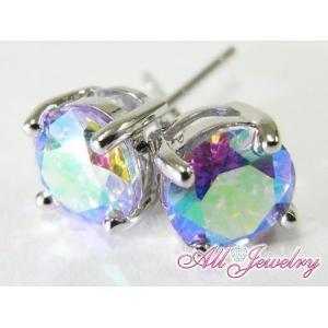 ルナラベンダー・6mm一粒 ピアス (Lunar Lavender Pierce)【即納】 alljewelry