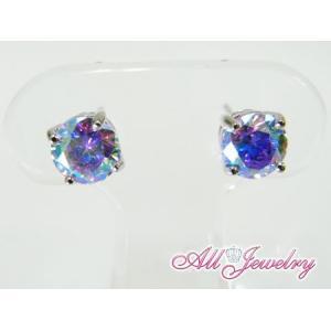 ルナラベンダー・6mm一粒 ピアス (Lunar Lavender Pierce)【即納】 alljewelry 03