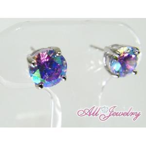 ルナラベンダー・6mm一粒 ピアス (Lunar Lavender Pierce)【即納】 alljewelry 04