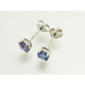 【新作】アレキサンドライト Synthetic・4mm一粒 ピアス 【6月 誕生石】【3000円以下】【即納】|alljewelry